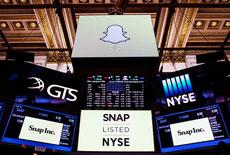 Comprar ações da empresa dona do Snapchat