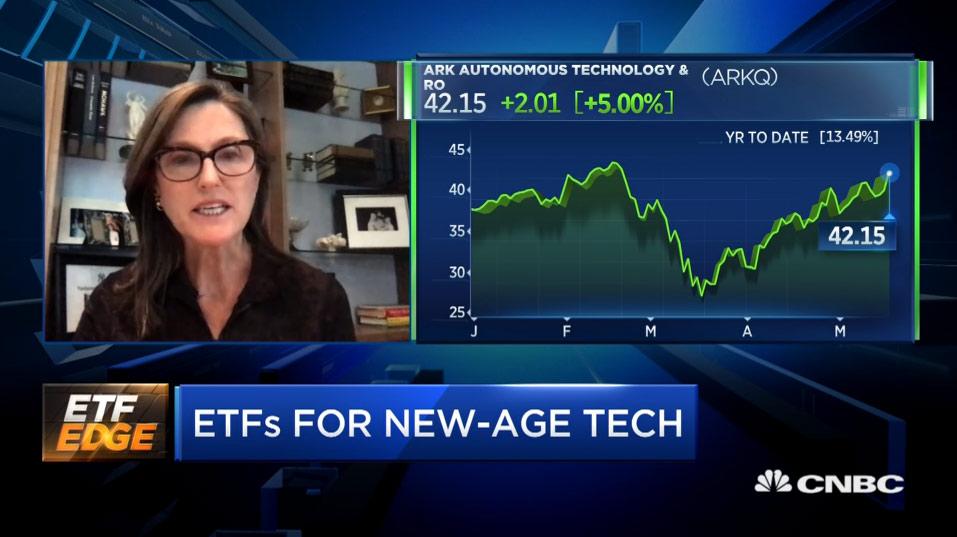 Cathie Woods da ARK na CNBC