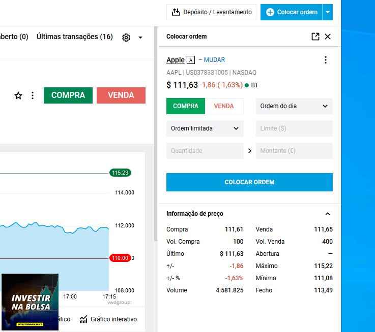 Como funciona a corretora DEGIRO - Comprar e vender ações