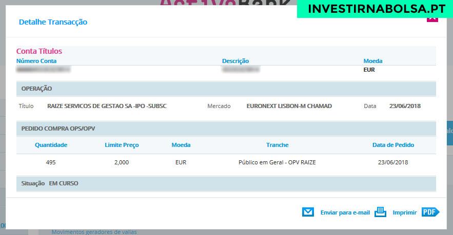 Como investir no IPO Raize