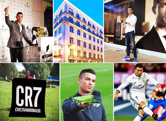 Cristiano Ronaldo e os seus 1001 investimentos para Ganhar Dinheiro