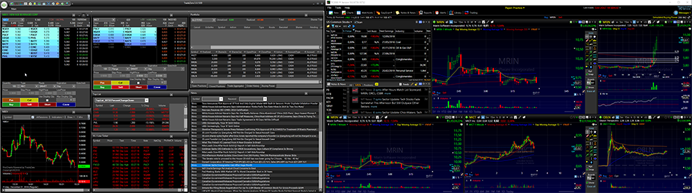 Plataforma de trading ZeroPro e o programa TC2000