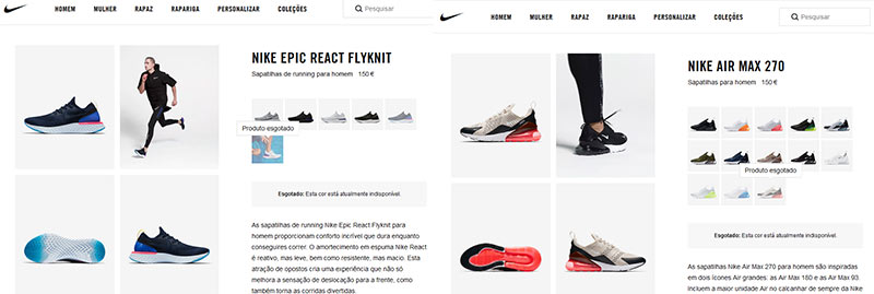Produtos Nike que podem ajudar os lucros a subir