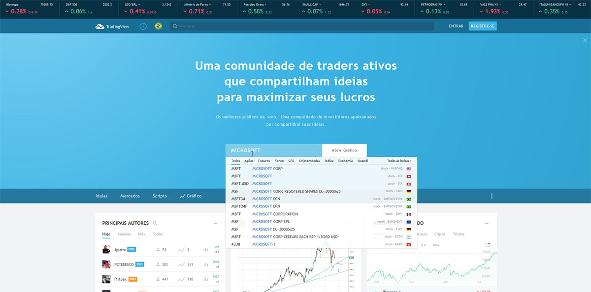 Site TradingView