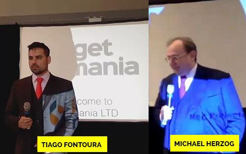 Tiago Fontoura e Michael Herzog, os donos da Getmania Ltd